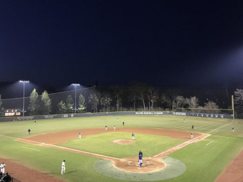 After a career outing for Erla, Spartans win first McLane night game on suicide squeeze