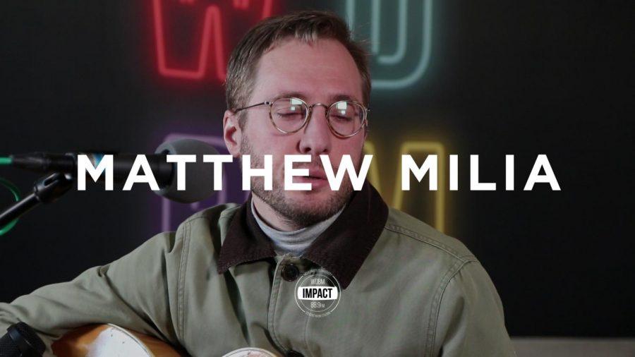 Matthew Milia (Live @ WDBM)