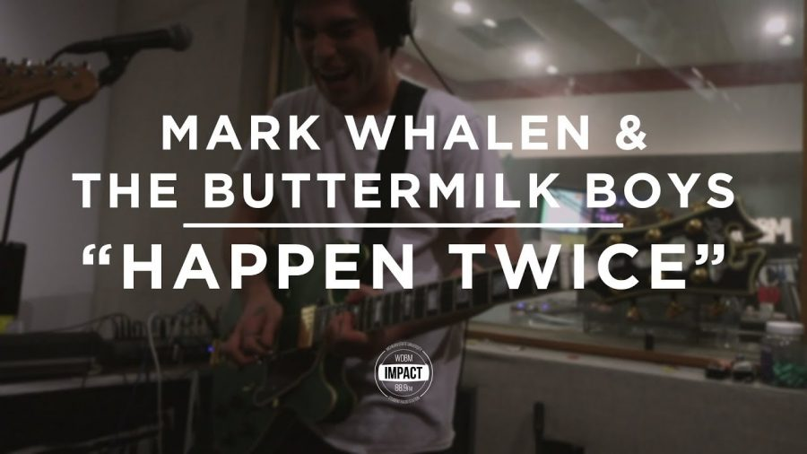 "Mark Whalen & the Buttermilk Boys – ""Happen Twice"" (Live @ WDBM)"
