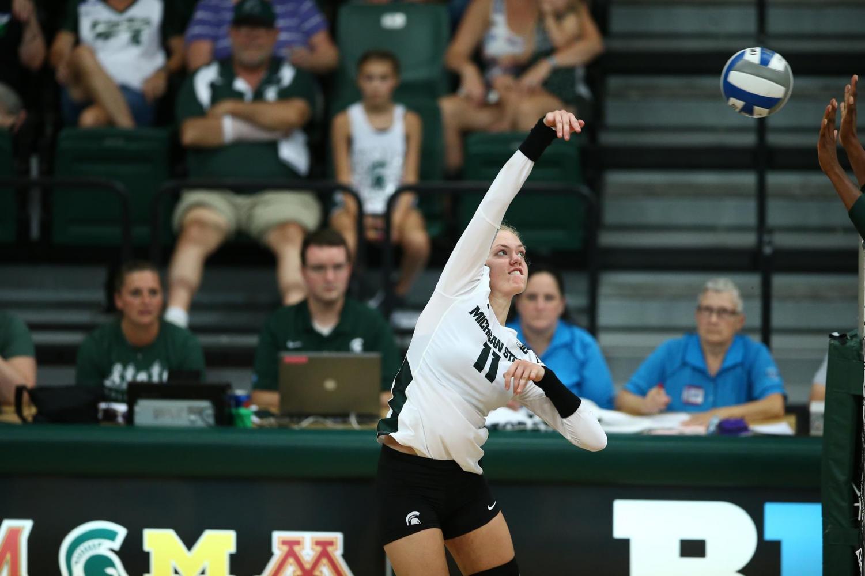Alyssa Chronowski/Photo: MSU Athletic Communications