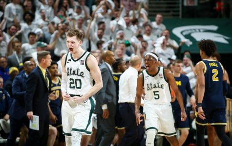 Mitchell: After consecutive losses, words from McQuaid, Goins still echo in Spartans' locker room