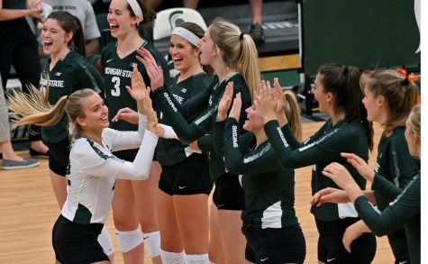 Michigan State swept by No. 8 Penn State on Sunday afternoon