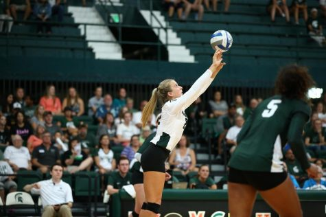 Spartans defeat North Carolina with second consecutive sweep