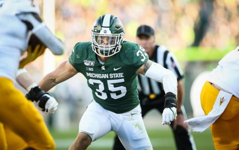 Michigan State linebacker Joe Bachie declared ineligible following failed drug test