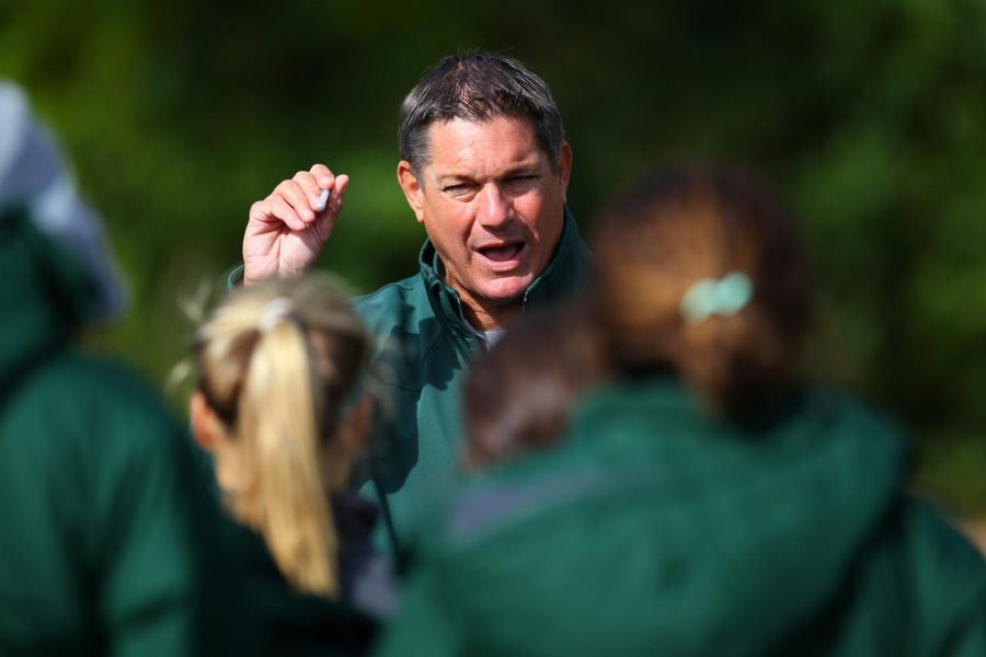 MSU women's soccer head coach Tom Saxton/Photo: MSU Athletic Communications