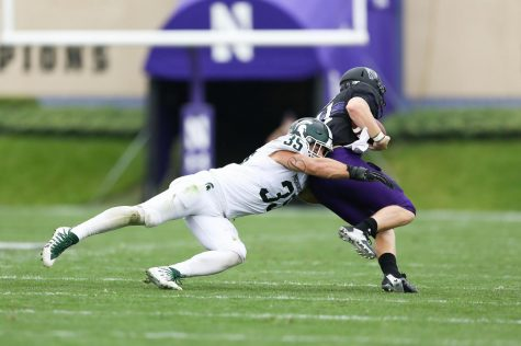 Joe Bachie named Big Ten Defensive Player of the Week