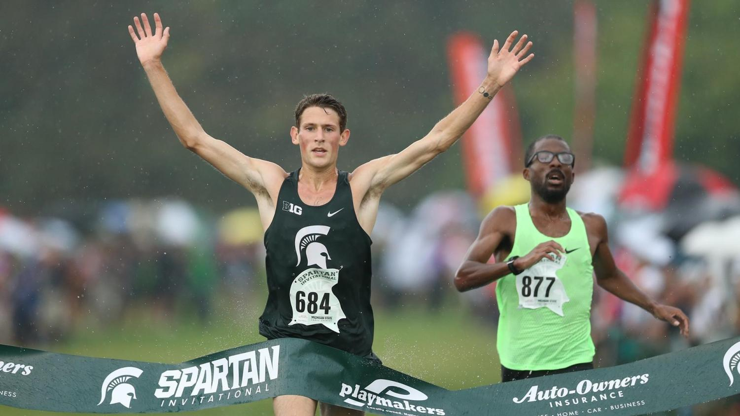 Morgan Beadlescomb at the 2019 Spartan Invite in East Lansing. (Credit: MSU Athletic Communications)