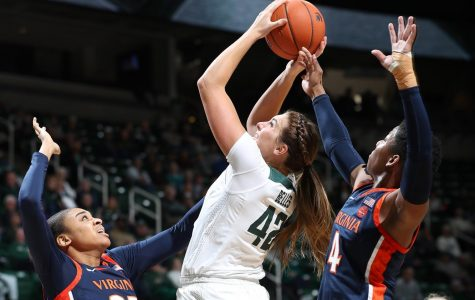 Spartans take down Buckeyes, grab tenth win of season