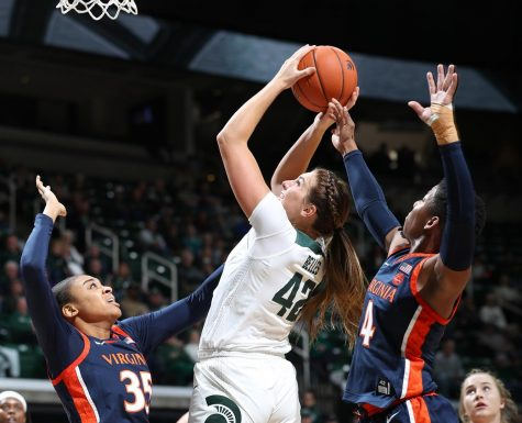 Spartans drop Big Ten tournament opener to Purdue
