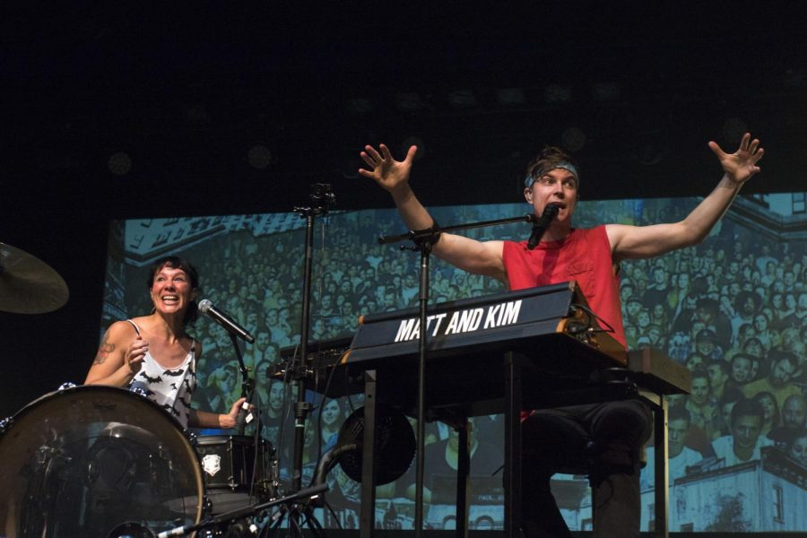 Matt and Kim at the Observatory -  11/5/19