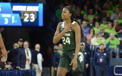 Nia Clouden, No. 16-ranked MSU get big 72-69 win over No. 15 Notre Dame