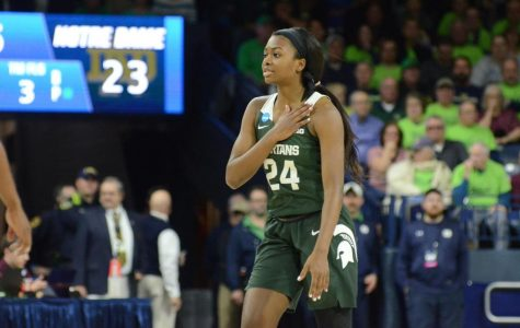 Nia Clouden, No. 16-ranked MSU get big 72-69 win over No. 15 Notre Dame