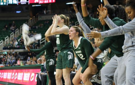Bench mob helps MSU as Spartans upend Badgers in 69-52 win