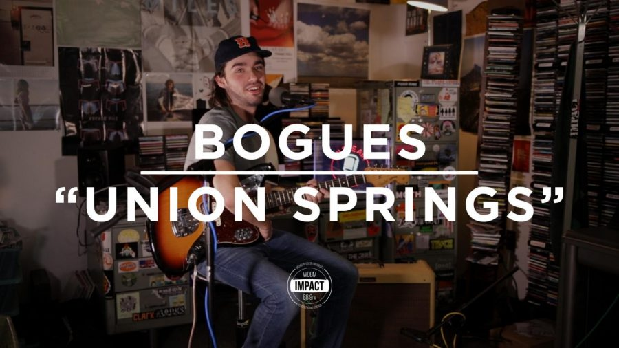 "Bogues- ""Union Springs"" (Live @ WDBM)"