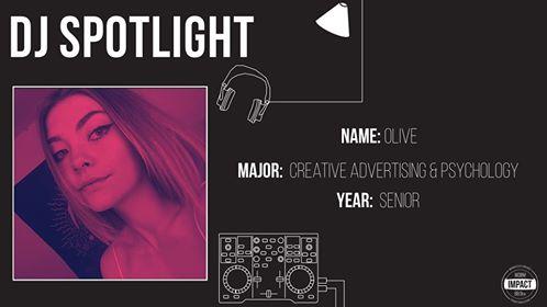 DJ Spotlight of the Week- Olive