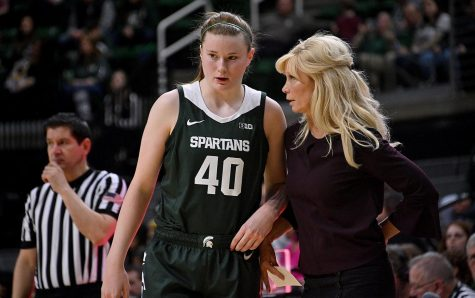 Stearns: Ayrault's continued maturation good news for Spartans