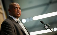 Michigan State football coach Mel Tucker. (Photo: MSU Athletic Communications)