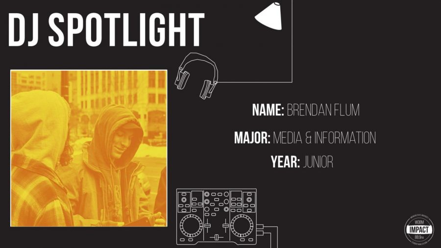 DJ Spotlight of the Week -Brendan