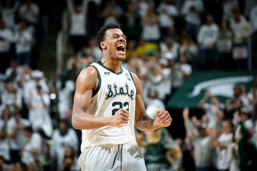 Michigan State forward Xavier Tillman. (Photo: MSU Athletic Communications)