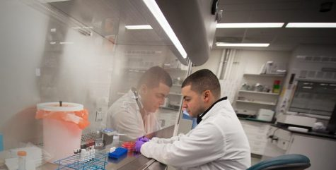 Jose Rodrigues in Lab