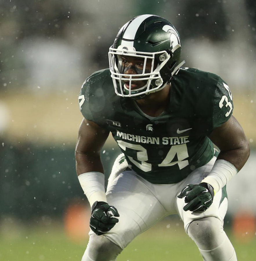 Antjuan Simmons/(Photo: MSU Athletic Communications)