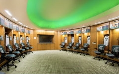 Michigan State Women's Basketball Locker Room / Photo Credit: Michigan State Athletic Communications