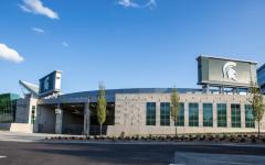 Spartan Stadium North End Zone/ Photo Credit: MSU Athletic Communications)