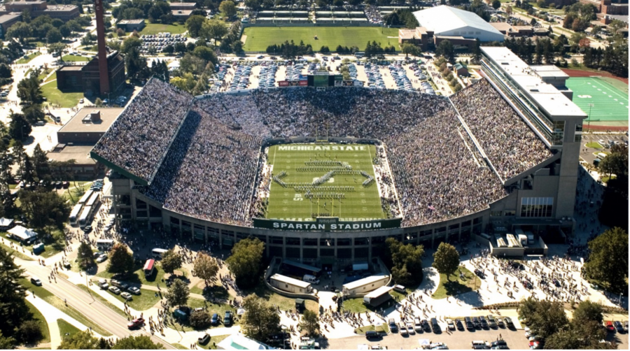 Spartan Stadium (Photo Credit: MSU Athletic Communications)