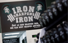 Michigan State Weight Room (Photo: MSU Athletic Communications)