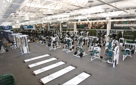 Spartan Weight Room,(Photo: MSU Athletic Communications)