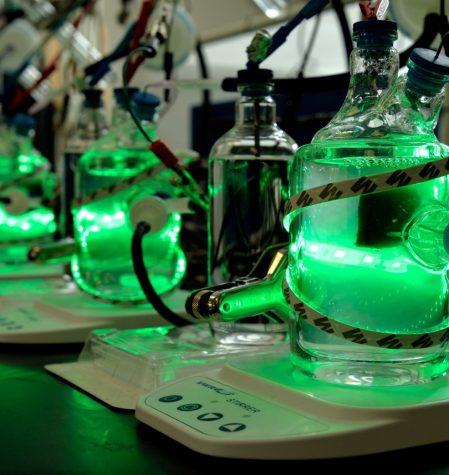 Bioreactor in Kati's lab