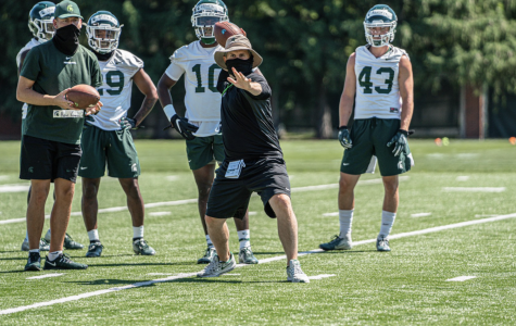 Michigan State safeties coach Mike Tressel/ Photo Credit: MSU Athletic Communications