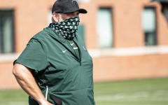 Michigan State offensive line coach Chris Kapilovic/ Photo Credit: MSU Athletic Communications