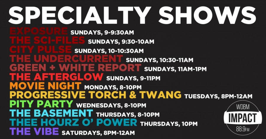 Specialty Show Schedule Fall 2020