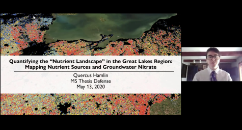Quercus Hamlin, Quantifying the Nutrient Landscape in the Great Lakes Region: Mapping Nutrient Sources and Groundwater Nitrate