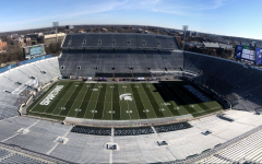 An empty Spartan Stadium/ Photo Credit: MSU Athletic Communications