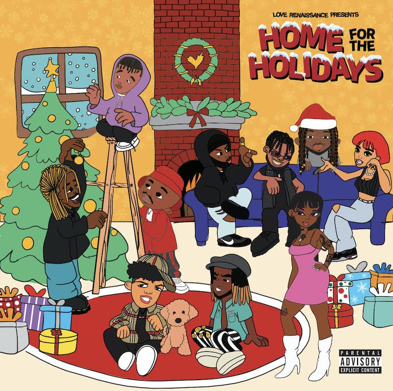 "Holiday Collaboration | ""Ghetto Christmas"" by Love Renaissance"