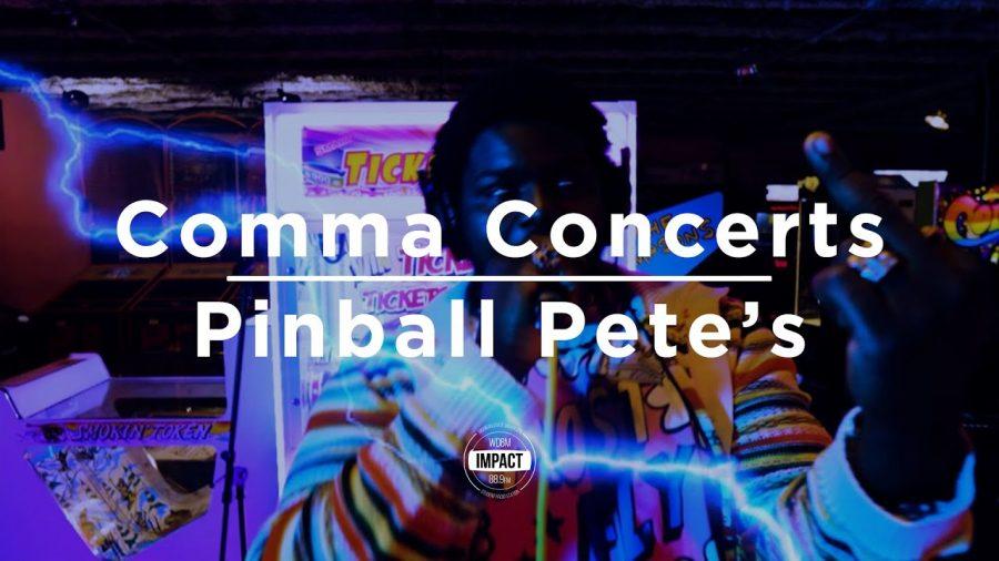 Comma Concert @ Pinball Pete's