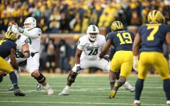 Michigan State offensive lineman Devontae Dobbs (Photo: MSU Athletic Communications)