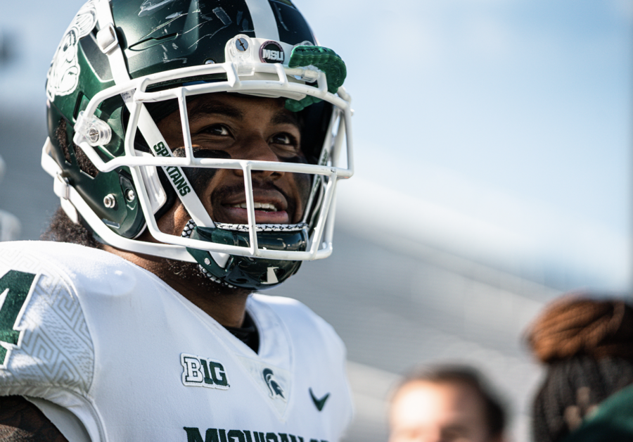 Antjuan+Simmons+smiles+as+MSU+squares+off+against+Penn+State%2F+Photo+Credit%3A+MSU+Athletic+Communications