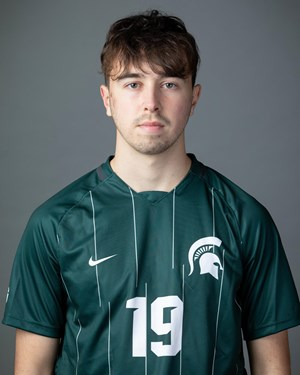 Michigan State midfielder Vedad Kovac (Photo: MSU Athletic Communications)