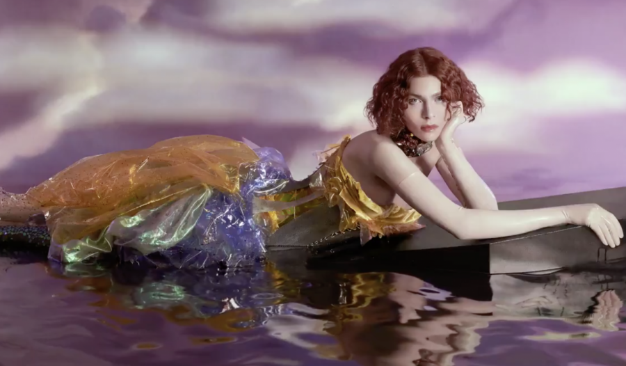 Photo from SOPHIE's album cover for OIL FOR EVERY PEARL'S UN-INSIDES NON-STOP.