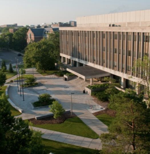 The Hannah Administration Building/Photo Credit: MSU University Communications