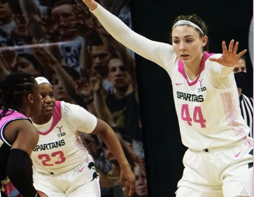 MSU forward Kendall Bostic/Photo Credit: MSU Athletic Communications