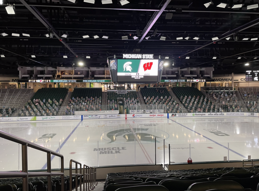 Munn Ice Arena/ Photo Credit: Kyle Hatty/ WDBM
