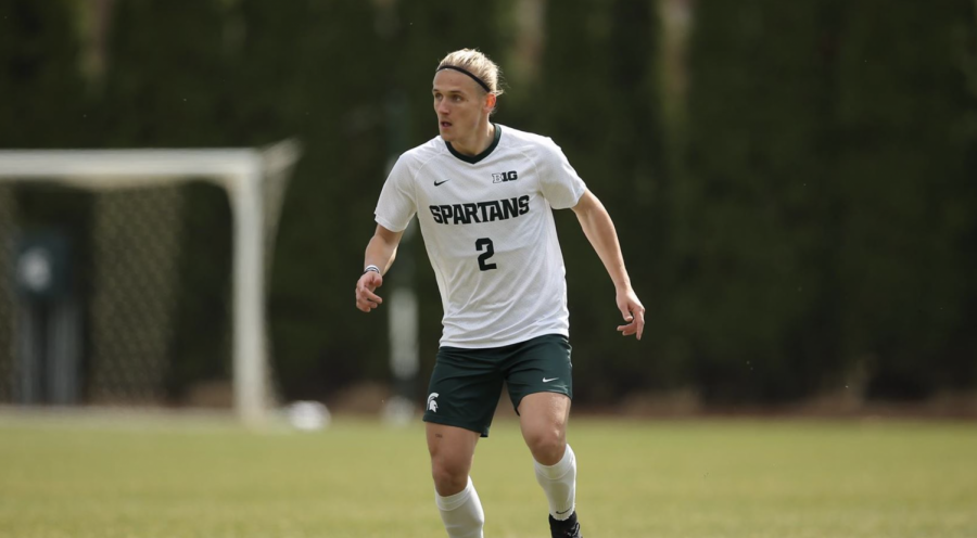 MSU midfielder Jack Beck/ Photo Credit: MSU Athletic Communications