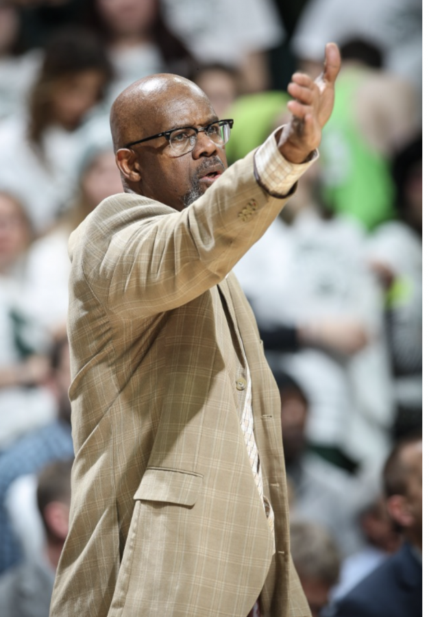 MSU assistant coach Mike Garland/Photo Credit: MSU Athletic Communications