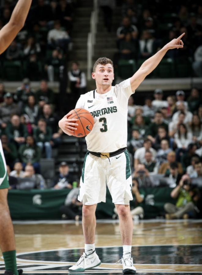 MSU point guard Foster Loyer enters the transfer portal