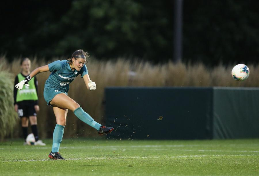 MSU goaltender Lauren Kozal receives Goalkeeper of the Week Honors