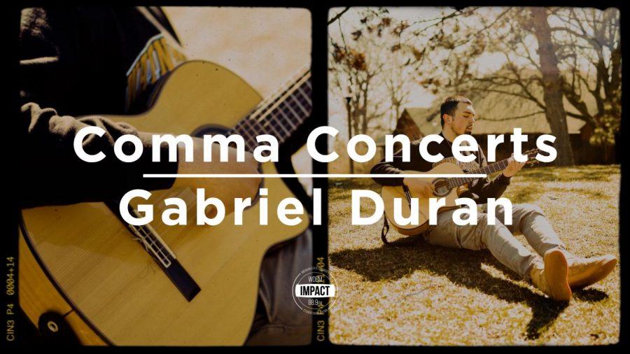 Comma Concerts- Gabriel Duran (Live @ Clark Park Coalition)